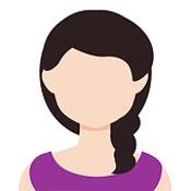 avatar di donna con capelli lunghi